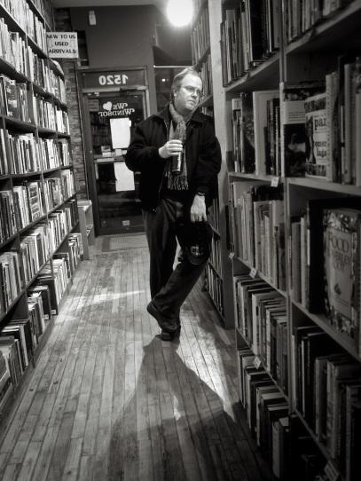 Dan Wells, owner of Biblioasis