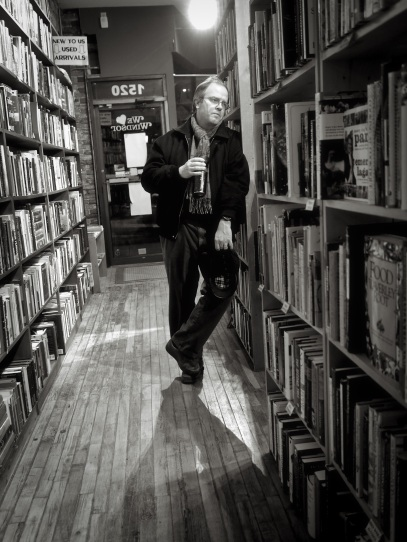 Dan Wells, owner of Biblioasis